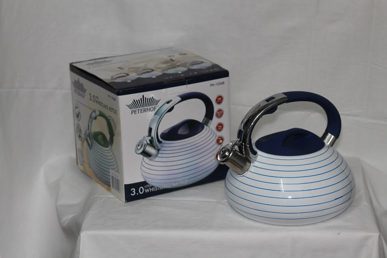 Емальований чайник Товарpeterhoff PH-15568, 3 л