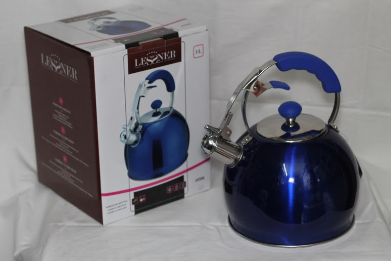 Чайник Lessner 49508,коррозионостойкая сталь, 3 л