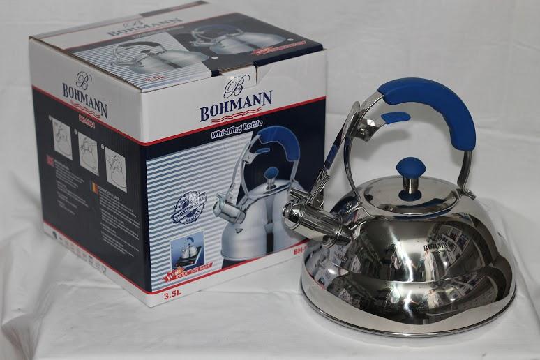 Чайник Bohmann 9984, нержавеющая сталь