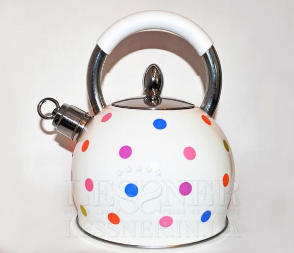 Чайник Lessner 49507, 3 л, коррозионостойкая  сталь