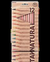 "Карандаши цветные ""MARCO"" Natural Jumbo (12 цветов)"