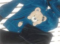 Костюм велюровый женский Birlik 8236 ,размер М, фото 1