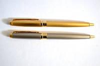 Ручка металлическая поворотная BAIXIN BP802 (золото+мрамор)