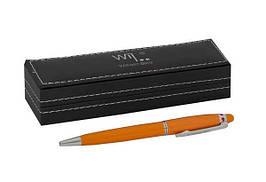 Ручка шариковая Wilhelm Buro WB184 поворотная (в подарочном футляре)