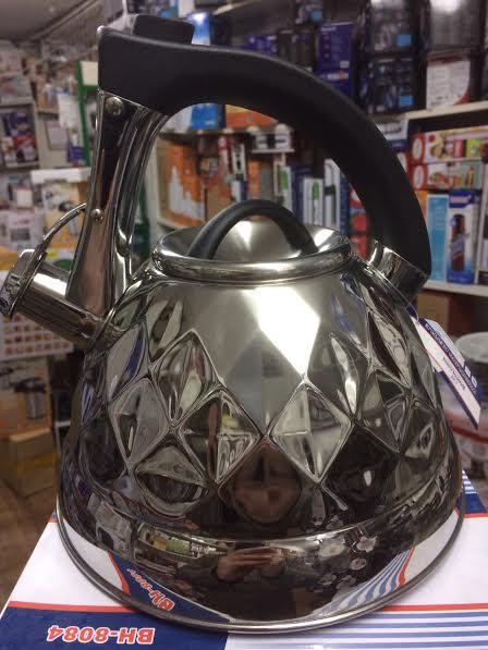 Чайник Bohmann 8084, 3.5 л, нержавеющая сталь