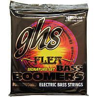 Струны GHS M3045F Boomers Bass Flea Signature 45-105 Medium