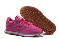 Женские кроссовки Reebok Classic Suede Pink. рибок классик суед, интернет магазин обуви, фото 1