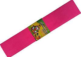 """Бумага креповая 7745 """"Мультяшки"""" розовый 50*200 см."""
