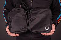 Барсетка мужская, сумка через плечо, 2 вида