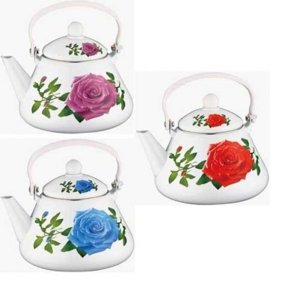 Эмалированный чайник Peterhof PH-15535, 2,2 л