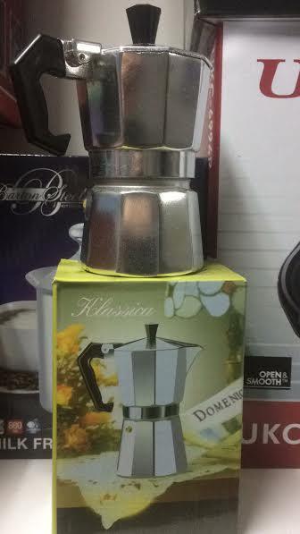 Гейзерная кофеварка на 1 чашечку еспрессо  MH- 0637