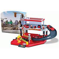 Bburago Игровой набор Bburago Гараж Ferrari (2 уровня, 1 машинка 1:43) (18-31231)