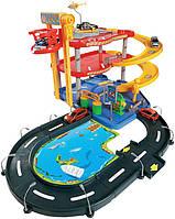 Bburago Игровой набор Bburago Гараж (3 уровня, 2 машинки 1:43) (18-30025)