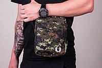 Барсетка мужская, сумка через плечо