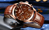 Чоловічі наручні годинники.Модель 2193, фото 3