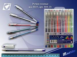 """Набор гелевых ручек """"Easy gel"""" EA888-10 (10-цв.)"""