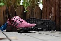 Женские кроссовки  Adidas NMD Runner Suede Dark Red. адидас ранер суед, интернет магазин кроссовок