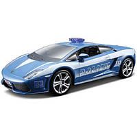 Bburago Автомодель Bburago Lamborghini Gallardo LP560 Polizia (голубой, 1:32) (18-43025)