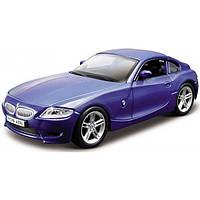 Bburago Автомодель Bburago BMW Z4 M Coupe (синий  металлик, 1:32) (18-43007)