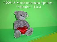 """Игрушка """"Мишка Тедди"""" (плюшевый) 13 см."""