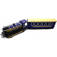 Технопарк Модель Технопарк Паровоз с вагоном (CT10-038)