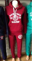 Женский спортивнй костюм трехнитка New York, Турция