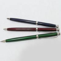 Ручка металлическая поворотная BAIXIN BP702 (серебро, синий, красный, фиолетовый)
