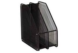 Лоток для бумаги 307-B/3003-2 (2 секции, вертикальный, металл.сетка)