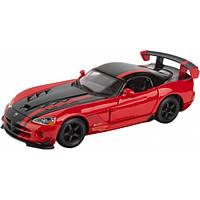 Bburago Автомодель Bburago Dodge Viper SRT 10 ACR (красно-черный, 1:24) (18-22114-1)