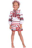 Вышиванка-костюм для девочки, 0025, размер 98 0025