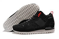 Мужские кроссовки Adidas Military Trail Runner Army Navy Black