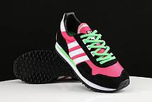 Кроссовки женские Adidas Originals ZX400 Hyper Pink Black White. сайт обувь интернет магаз, адидас ультра буст