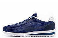 Крутые Спортивные кроссовки мужские Nike cortez ultra br blue