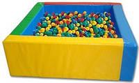 Сухой бассейн с шариками.