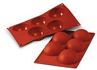 """Форма для выпечки """"полусфера"""" d7 см h3,5 см силикон Silikomart"""