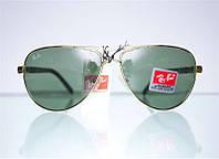 Брендовые солнцезащитные очки-авиаторы увеличеного размера от Ray Ban