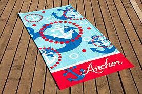Полотенце пляжное Anchor Lotus 75*150