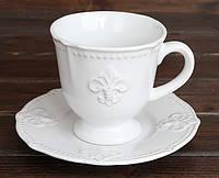 Кофейный набор 4 пр 260мл Королевская лилия