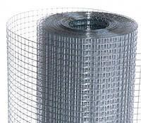 Сетка сварная 25*25 цинк проволока 1,4 мм .,высота рулона 1 метр