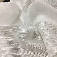 Белый Лен тюль марля полоса