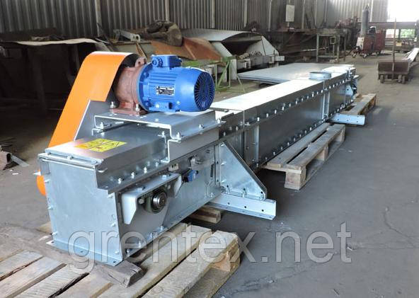 Конвейер скребковый утф 320 транспортер ленточный для дров