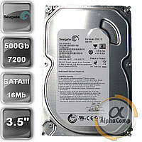 "Жесткий диск 3.5"" 500Gb Seagate ST3500418AS (16Mb/7200/SATAII) б/у"