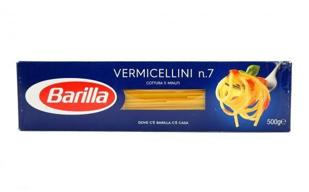 Спагеті Barilla №7 Vermicellini, 500г
