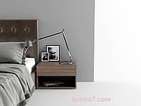 Прикроватная тумба Модена 1, Ш600мм, Трюфель (1)