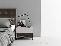 Прикроватная тумба Модена 1, Ш600мм, Белая (2)
