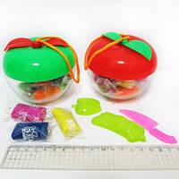 """Тесто для лепки 0149(0419) """"Яблоко"""" 8 цв. набор с формочками"""