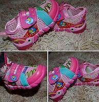 Детские кроссовки сетка для девочек