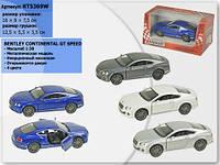 Машина металлическая kinsmart kt5369w bentley continental gt speed