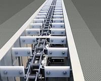 Скребковый  транспортер 350 т/час, цепной КЦС-350, (ТЦС-500)