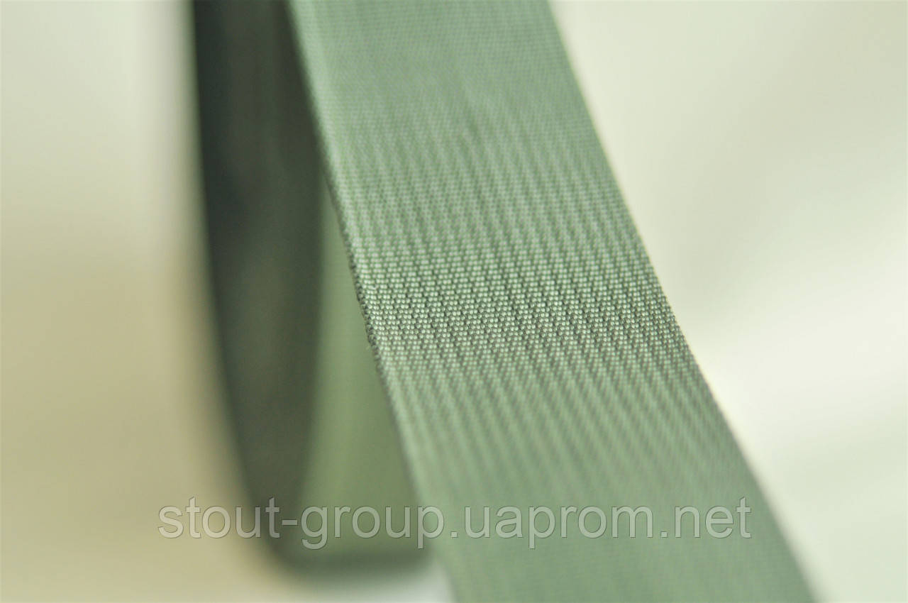 Лента ременная полиамидная 40 мм. хаки